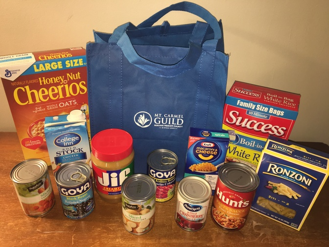 PQM Food Drive Kit Bag